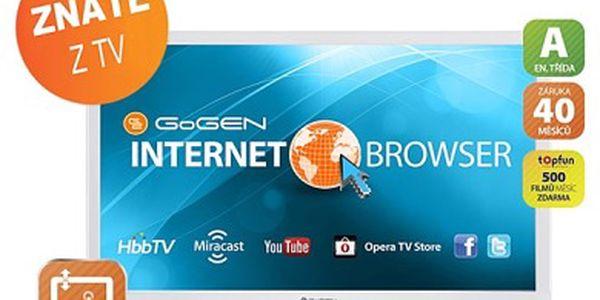 Televize GoGEN TVL 24780 WEBW, LED
