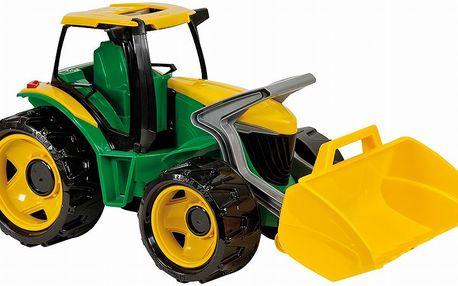 Traktor se lžíci, zeleno žlutý - LENA 02079