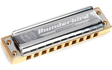 Foukací harmonika Hohner Marine Band Thunderbird G-major, low octave