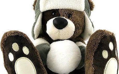 Teddy Big Foot Medvídek 13cm v beranici Big Foot