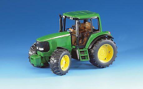 Traktor John Deere 6920 s žlutozeleným designem