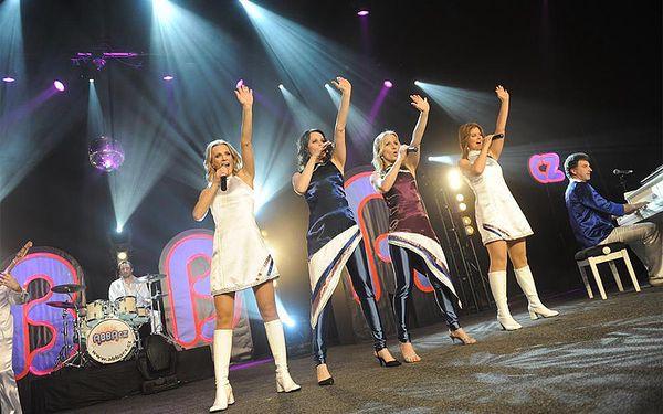 Vstupenka na ABBA Show v Praze2