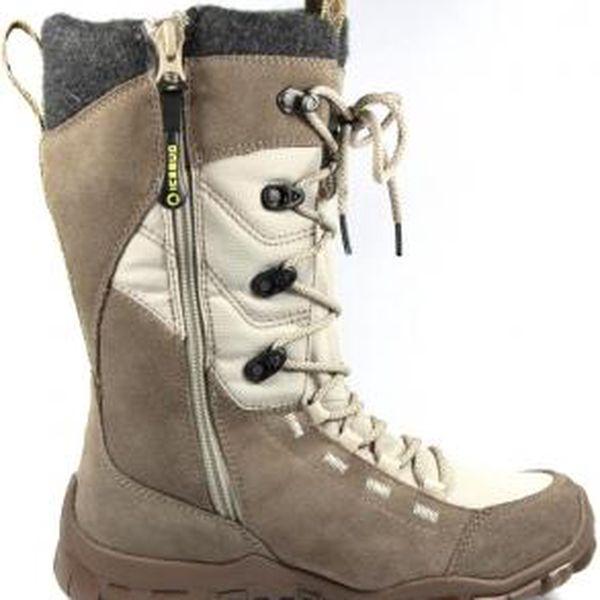 Dámská zimní obuv - Ice Bug DIANA-L béžová EUR 39 (8 US women)4