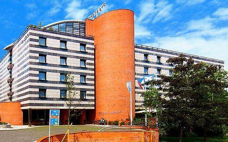 2denní pobyt v luxusním pražském hotelu Expo**** pro 1 nebo 2 osoby a dítě se snídaněmi