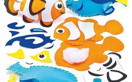 Polštářek tropické rybky šitíčko