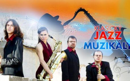 """Jedinečný koncert """"Od klasického jazzu k muzikálům"""" v Českém muzeu hudby 5.3.2015 od 19:30 hod.!"""