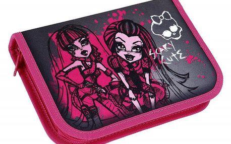Monster High Školní penál s příslušenstvím