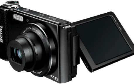 Digitální kompakt BenQ DSC G1 Black + originální kožené pouzdro ZDARMA!