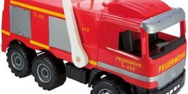 LENA - Mercedes Benz - hasičské auto s nálepkami (64 cm)