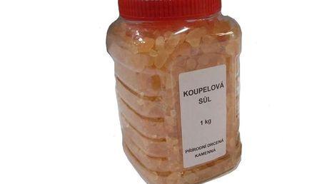 Sůl drcená v dóze 1 kg - orange