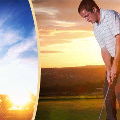 Lekce golfu s profesionálním trenérem pro začátečníky i pokročilé