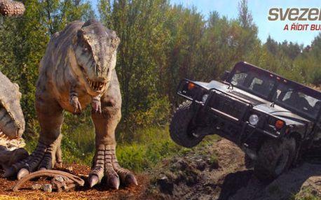 Zážitková jízda v terénu v Hummeru H1
