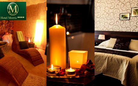 Romantický wellness pobyt ve 4* Parkhotelu Morris pro dva