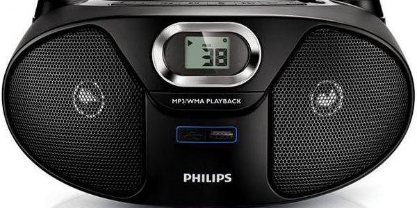 Výkonný přehrávač Philips AZ385