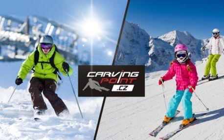 Výuka CARVINGU zkušenými instruktory v rakouském RAURISU pro děti i dospělé! Výhodné ceny ubytování!
