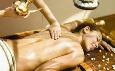 Relaxační olejová thajská masáž (60 minut) za pouh...
