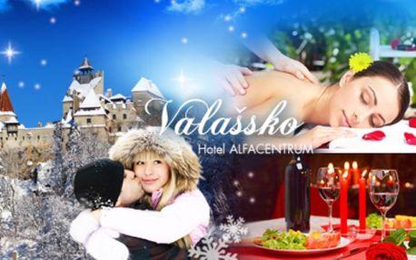 RELAXAČNÍ POBYT na Valašsku! 3 dny/2 noci pro 2 osoby s ubytováním v hotelu Alfacentrum*** s polopenzí!