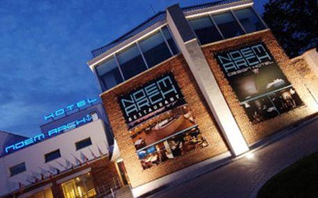 SPECIÁLNÍ ZVĚŘINOVÉ MENU o 6-ti chodech v luxusní restauraci Design hotelu Noem Arch.
