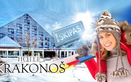 Aktivní dovolená pro DVA na 3 nebo 4 dny v Hotelu Krakonoš*** v Mariánkách! Včetně SKIPASU či wellness!
