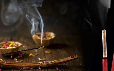 100ks tibetských vonných tyčinek