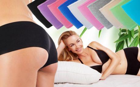 3x dámské bavlněné kalhotky – BOXERKY včetně POŠTOVNÉHO! Několik barevných variací! Bezešvý střih!