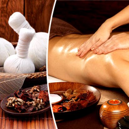 Thajská olejová nebo bylinná masáž - 60 minut