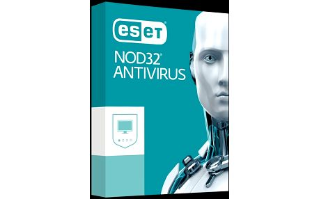 Nová verze bezpečnostního řešení ESET NOD32 Antivirus 8 - 1 PC/1 rok - krabicová verze