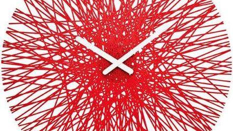 Designové nástěnné hodiny Silk