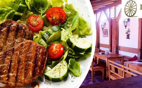 Bohatá steaková hostina pro dva