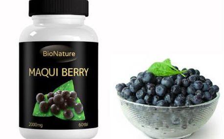 Hubnoucí tablety Maqui Berry: 60 tablet