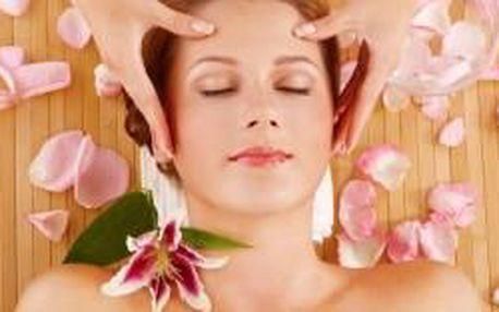 Oblíbená masáž hlavy a obličeje (60 minut) za pouh...