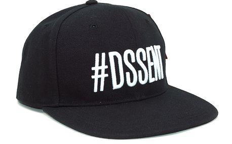 Kšiltovka DSSENT Hashtag Black Snapback