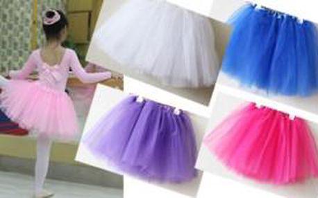 Krásná sukýnka TUTU pro malou baletku