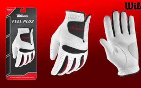 Golfová sezona se blíží, získejte novou rukavici za svěží cenu - Wilson Feel Plus golfová rukavice pánská jen za 169 Kč, různé velikosti