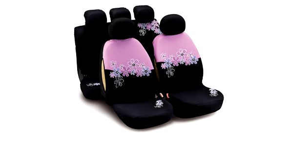 Speciální designová řada tuningových potahů pro dívky a ženy BLACK DOUBLE FAN