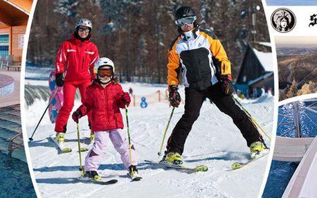 Zimní relax na Lipně - lyžování i aquapark