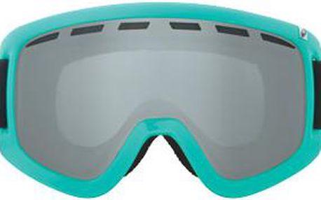 Snowboardové brýle D1 Pop Teal jet ionized + amber