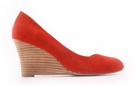 Dámské červené střevíčky Derhy