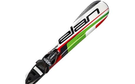 Dětské sjezdové lyže Elan FORMULA GREEN 70-90 + EL 4.5 VRT