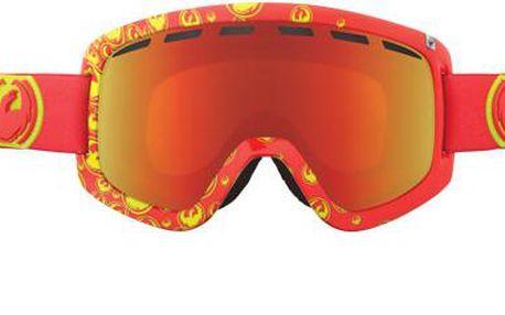 Perfektní lyžařské brýle D1 Tango Icon red ionized + amber