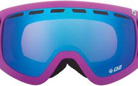 Skvělé lyžařské brýle D2 Pop Purple blue steel + amber