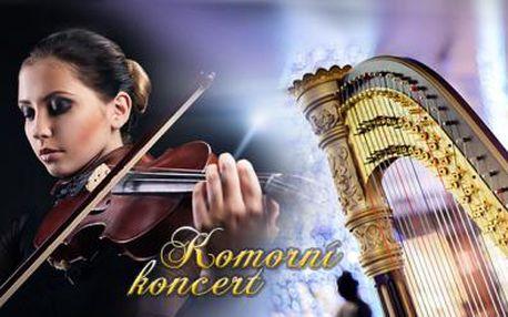 Komorní koncert v Jindřišské věži v úterý 17.3.! Nechte se okouzlit špičkovými umělci ve hře na housle a harfu!