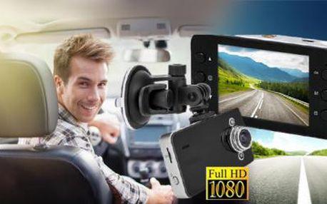 Full HD kamera do auta s nočním viděním! Zajistí důkazy při nehodě a nahraje zábavná videa z Vašich jízd!