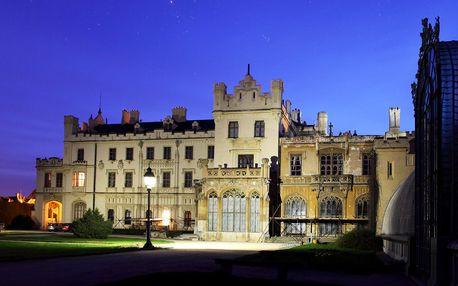 Kouzelný pobyt u zámku Lednice (2 osoby / 2 noci)