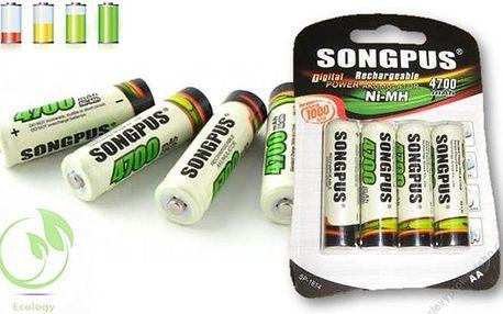 Nabíjecí tužkové baterie AA