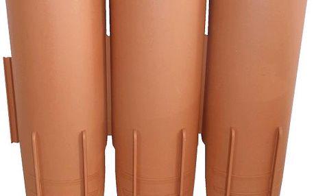 E-Coreco Palisáda Klasik 3 2,1m, teracot