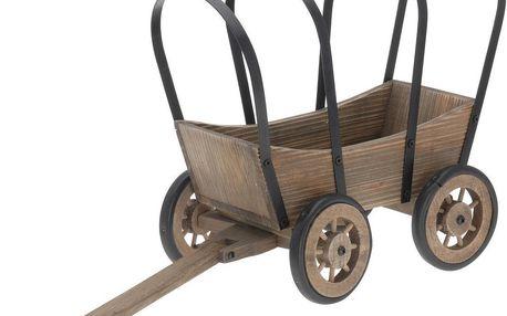 Zahradní dekorace vozík