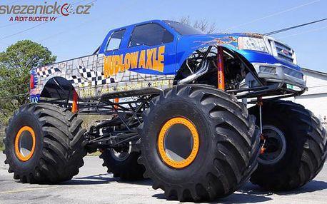 Bláznivá jízda v legendárním Monster Trucku