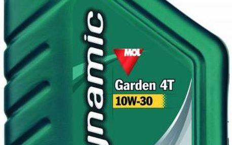 Olej na 4 taktní motory MOL DynamicGarden4T10W-30 0,6L