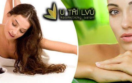 Vinná terapie Afrodita + úprava obočí + v případě zájmu depilace horního rtu